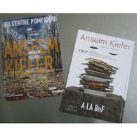 Carte : Exposition Anselm Kieffer, Centre Pompidou, 2015 - Arts