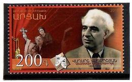Armenia (Artsakh - Nagorno Karabakh).2019 Vagharsh Vagharshyan 125th Anniversary Soviet Armenian Actor.1v:200 - Arménie