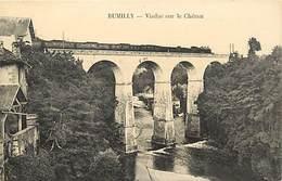 -dpts Div.-ref-AG526- Haute Savoie - Rumilly - Viaduc Sur Le Chéran - Passage Train- Trains - Ligne De Chemin De Fer - - Rumilly