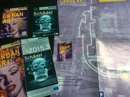 """Urban Art, Biennale 2015"" & Expo Schädel, Völkinger, Allemagne : 2 Cartes Postales 1 Dépliant & 1 Plan - Arts"