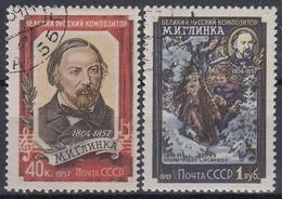URSS / RUSIA 1957 Nº 1892/1893 USADO - 1923-1991 URSS