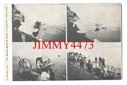 CPA - Multi Vues D'un Canon Dans La Loire - 26 Février 1907 - Cliché Joseph - Edit. Lib. Du Loiret  Maume Vernédal - Matériel