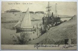 COURBE DU GHIRSH - CANAL DE SUEZ - Sues