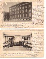 ZAVENTEM Saeventhem Pensionnat Des Religieuses Ursulines 1901 Facade Sud - Salle De Coupe 583/d3 2 Pcs - Zaventem