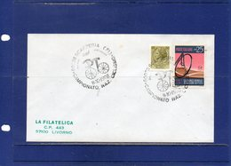 """##(DAN193)-Italy 1978- """"National Cycling Championship-Scarperia""""  Special Cancel On Cover To Livorno - Ciclismo"""