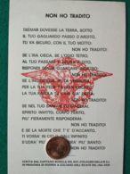 FASCISMO Unione Nazionale Combattenti Repubblics Sociale Fed. Di Roma - War 1939-45