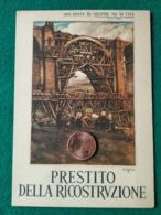 FASCISMO Prestito Della Ricostruzione - Guerra 1939-45