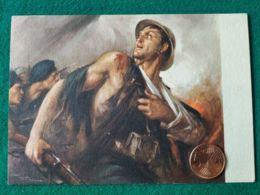 FASCISMO Ufficio Storico Milizia Eroismo Legionario Didegnatore Clemente Tafuri - Guerra 1939-45
