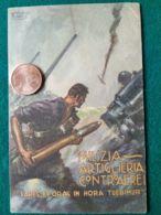 FASCISMO Milizia Artiglieria Controaerei Disegnatore Vittorio Pisani - Guerra 1939-45