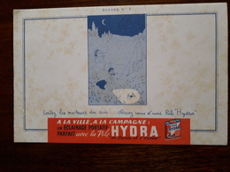 L18/52 Buvard. Pile Hydra - Batterie
