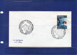 """##(DAN193)-Italy 1980- """"International Cycling Meeting-Gorizia """"  Special Cancel On Cover To Livorno - Ciclismo"""