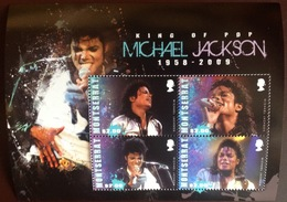 Montserrat 2010 Michael Jackson Sheetlet MNH - Montserrat