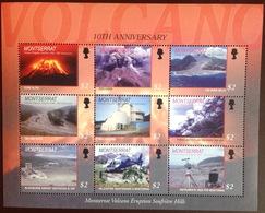 Montserrat 2005 Volcano Sheetlet MNH - Montserrat