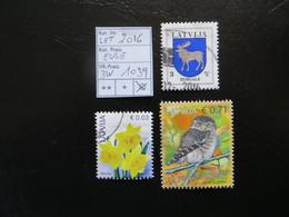 "2016  "" Eule "" Gestempelt   LOT 1039 - Lettland"