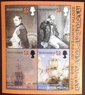 Montserrat 2005 Nelson Trafalgar Sheetlet MNH - Montserrat
