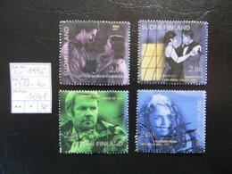 """1996  """" 100 Jahre Finnischer Film """"  4 Werte Gestempelt   LOT 1041 - Finnland"""