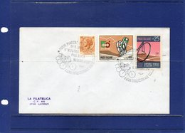 """##(DAN193)-Italy 1980- """" Traditional Cycling Races Fair-Piadena """"  Special Cancel On Cover To Livorno - Ciclismo"""