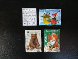 """2003  """" 3 Werte """" Sauber Gestempelt,   LOT 1043 - Gebraucht"""