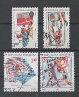 Croatia 1997, Used, Michel 424_427 Croatian Olympic Medals In Barcelona 1992 And Atlanta 1996 - Croazia