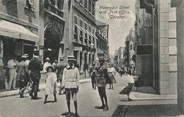 Gibraltar Waterport Street With Post Office  Edit Benzaquen - Gibraltar