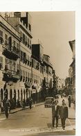 Gibraltar  Real Photo Entrance To Town Main Street - Gibraltar