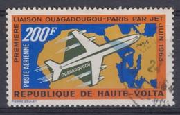 HAUTE VOLTA:   Le 200 Fr. De Poste Aérienne, Oblitéré - Obervolta (1958-1984)
