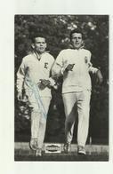 "**André DE HERTOGHE En Gaston ROELANTS --  """"  Met Handtekening""""-INGELMUNSTER 15-11-1970 - Athlétisme"