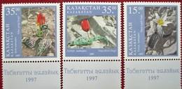 Kazakhstan 1997 Flowers . Tulips.  3 V MNH - Flora