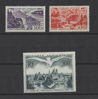 FRANCE.  YT  PA N° 26-27-20  Neuf *  1947-49 - Airmail
