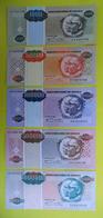 # # # Angola 1.000 Bis 1.000.000 Kwanzas Reajustados (5 Werte), Alle Vom 1.5.1995. # # # - Angola