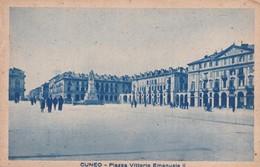 CARTOLINA - POSTCARD - CUNEO - PIAZZA VITTORIO EMANUELE II - Cuneo