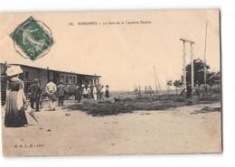 CPA 17 Marennes La Gare De La Cayenne Seudre Et Le Tramway - Marennes