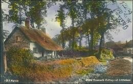 Postcard Exmouth (Devon) Cottage At Littleham 1923 - Regno Unito