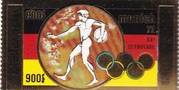 CAMBODGE. République Khmère. PA. Jeux Olympiques D'été à Munich En 1972 M GOLD / OR - Cambodge