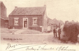 STOCKAY - Rue Du Tige. 1901. Edit. Lemys-Havelange. (Reproduction). - Saint-Georges-sur-Meuse
