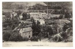 19 CORREZE - AUBAZINE Gare, L'Usine - Autres Communes