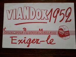 L18/54 Buvard. Viandox 1952 - Alimentare