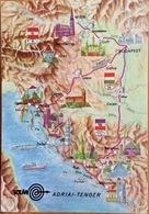 Map Cart. Adriai See - Cartes Postales