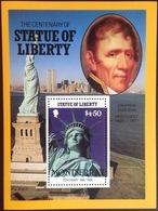 Montserrat 1986 Statue Of Liberty Minisheet MNH - Montserrat