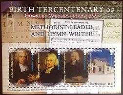 Montserrat 2007 Wesley Sheetlet MNH - Montserrat