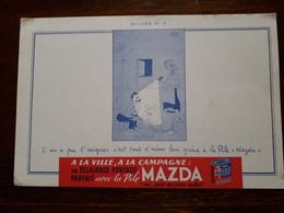 L18/55 Buvard. La Pile Mazda - Batterie