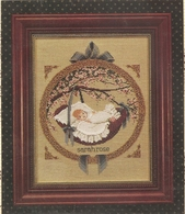"""Grille BUTTERNUT ROAD """" New Baby"""" - Cross Stitch"""