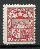 LETTLAND Latvia 1927 Michel 119 * - Lettland