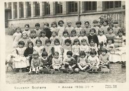 RHONE PHOTO 180mm X 130mm ECOLE LYON 9° 1988/1939 C.F.P. RUE TISSOT GRANDS DE MATERNELLE ( AU 4 DE LA RUE TISSOT ) - Documents Historiques