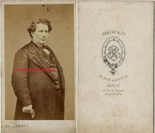 CDV Par Etienne Carjat-portrait D'une Personnalité à Identifier - Old (before 1900)