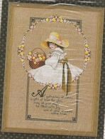 """Grille TOLD In A GARDEN """" A GATHERING OF ROSES"""" - Cross Stitch"""