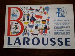 L18/58 Buvard. Larousse. - Blotters