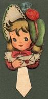 """0926 """"TORINO - HELLER -SEGNAPOSTO - DECORI PER FESTE BAMBINI - STAMPATI IN FOTOCROMOLITHOGRAFIA - ANNI '50 XX SECOLO"""" - Seasons & Holidays"""