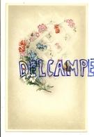 Fleurs Et Papillon - Vieux Papiers