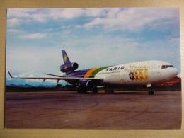 VARIG  MD 11 COUPE DU MONDE 98    AIRLINE ISSUE / CARTE COMPAGNIE - 1946-....: Ere Moderne